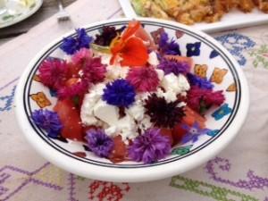 bloemensalade