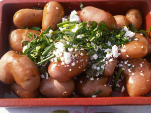 nieuwe aardappels eten
