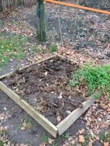 vierkante meter tuin van Jane