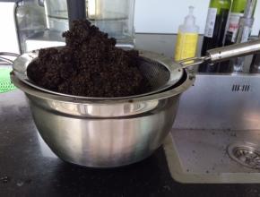 quinoa voor het wassen