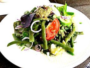 salade uit de tuin