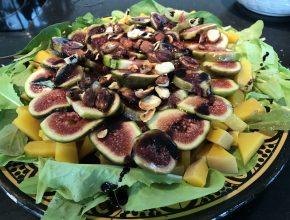 Salade met pompoen